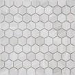 Мозаика LeeDo: Pietrine Hexagonal - Travertino Silver матовая 18х30х6 мм