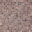 Мозаика LeeDo: Pietrine - Emperador Dark матовая 15x15x4 мм