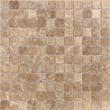 Мозаика LeeDo - Caramelle: Pietrine - Emperador Light полированная 23x23x4 мм