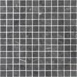 Мозаика LeeDo: Pietrine - Nero Oriente матовая 23x23x4 мм