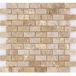 Мозаика LeeDo - Caramelle: Pietrine - Emperador Light полированная 23х48х7 мм