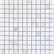 Мозаика LeeDo: Calacatta POL 23х23х10 мм, полированный керамогранит
